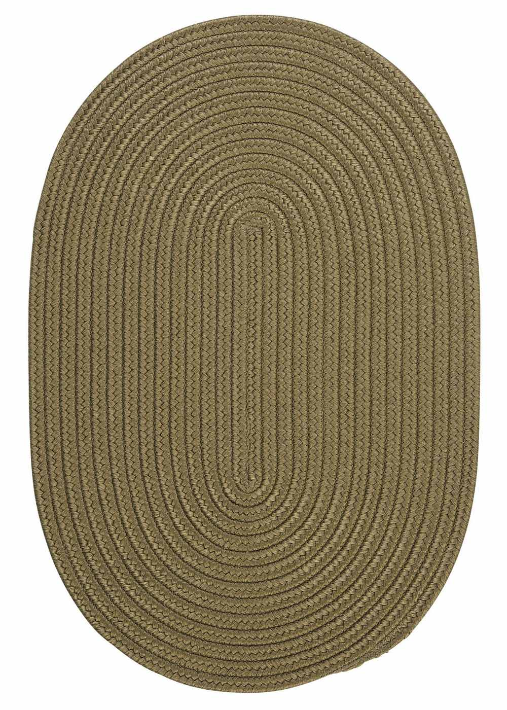 Super Area Rugs 2ft. x 12ft. Oval Indoor/Outdoor Reversible Braided Rug Sherwood Color (2x12) at Sears.com