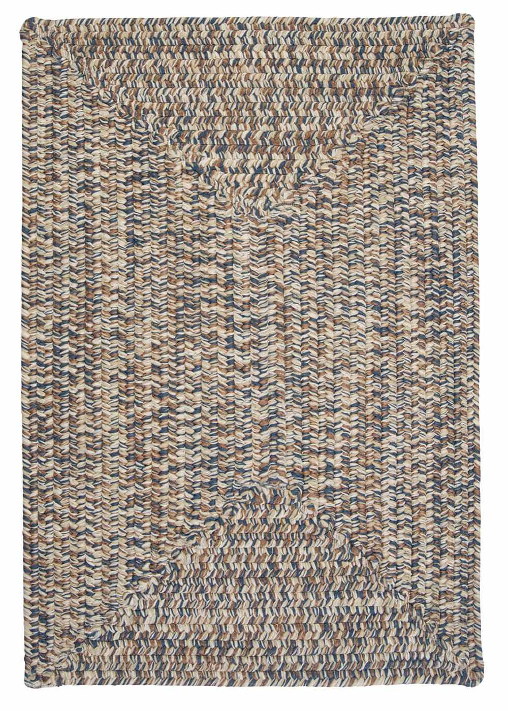 Super Area Rugs 8ft. x 11ft. Indoor/Outdoor Reversible Braided Rug Lake Blue Color (8x11) at Sears.com