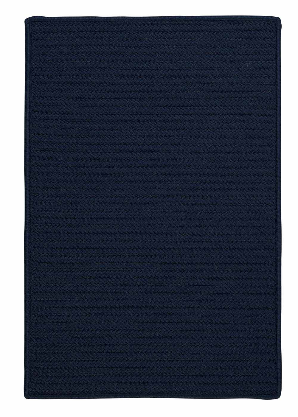 Super Area Rugs 8ft. x 11ft. Indoor/Outdoor Reversible Braided Rug Navy Color (8x11) at Sears.com