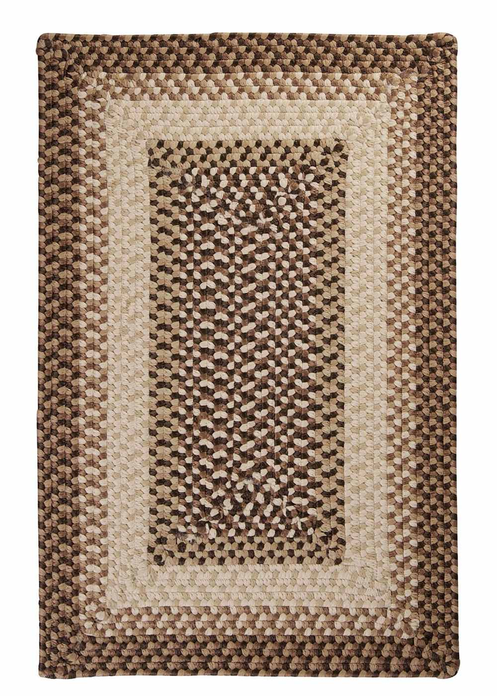 Super Area Rugs 2ft. x 6ft. Indoor/Outdoor Reversible Braided Rug Sandstorm Color (2x6) at Sears.com